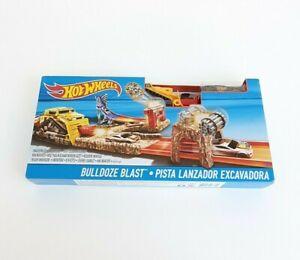 New Hot Wheels Bulldoze Blast Track Set by Mattel 2015
