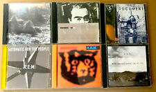 R.E.M. 6 CD Lot- Murmur, Life's Rich Pagent, Document, Automatic, Monster, Hi-Fi