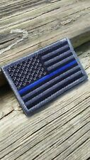 Thin Blue Line Police/LEO Morale Patches VELCRO® Hook and Loop