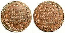 República Unida de Holanda. Jura de sus libertades. Calenidas de 1790. Cobre 13g