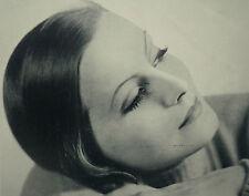 Greta Garbo Clarence Sinclair Bull 1930 Photo Study Article 6897