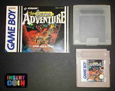 JUEGO NINTENDO GAME BOY THE CASTLEVANIA ADVENTURE LEER/READ!  // ADVANCE / COLOR