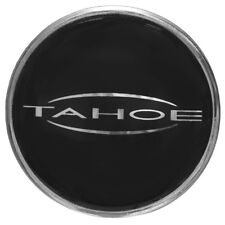 Tahoe Boat Steering Wheel Decal 148777 | Black Silver 1 1/2 Inch