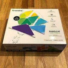 Nanoleaf Light Panels Smarter Kit - 9 Triangle Panels + Rhythm - Like New