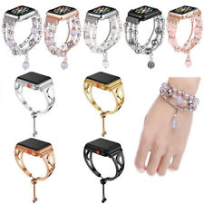Women Agate Beads Strap Bracelet Band For Apple Watch iWatch Series 6 5 4 3 2 1