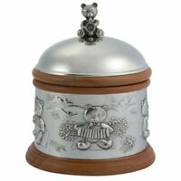 Royal Selangor Teddy Bear's Picnic Collection Pewter Musical Carousel Gift