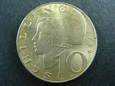 10 schilling 1969 Austria KM#2882 Autriche Österreich silver coin
