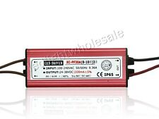 30W Waterproof Led Driver Power Supply 24-38V DC 1A For 30W Led Light DIY