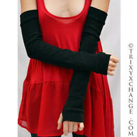 Sun Protection Gloves Black Arm Warmers UV Cotton Armwarmers Driving Sleeves Psy