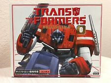 Takara Transformers Optimus Prime Convoy Collection 0 G1 Reissue SEALED NEW