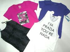 NEW Women M-L Workout Top Lot NIKE VERA WANG Tees Tank Cami Size M-Large NWT