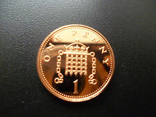 1995 PROOF ONE PENCE PIECE HOUSED IN A NEW CAPSULE 1995 PROOF 1P COIN CAPSULED.