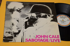 JOHN CAGE LP SABOTAGE LIVE 1°ST ORIG USA 1979 EX TOP AUDIOFILI