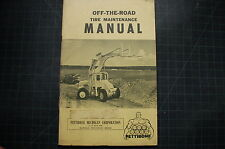 PETTIBONE OFF THE ROAD TIRE MAINTENANCE manual guide operation book loader wheel