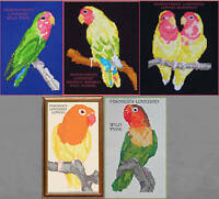 LOVEBIRD COUNTED CROSS STITCH PATTERNS