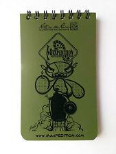Maxpedition Rite in the Rain 3 x 5 Notebook - OD Green