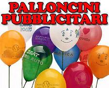 1000 PALLONCINI PERSONALIZZATI PUBBLICITA' CON VS LOGO SU 2 LATI!
