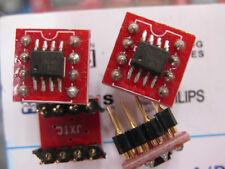 1x OPA2604AU SOIC to DIP8 Op amp module  OPA2604