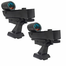2pcs Red Dot Finder Scope for Astronomical Telescopes w/ Dovetail Base Type HOT