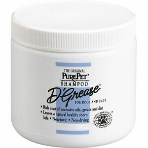 Professional D'Grease Dog & Cat Shampoo Deep Cleans All Coat Types Two Sizes