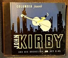 JOHN KIRBY and his Orchestra - Nice 1941 Columbia 4-record Set C-45