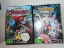 POKEMON ZOROARK DVD AND POKEMON DIAMOND PEARLS DVD