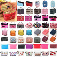 Women Travel Cosmetic Makeup Case Storage Bag Portable Beauty Toiletry Bag Pouch