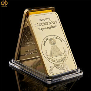 1776 Masonic Novus Ordo Seclorum Freemasonry Illuminati Symbol Rare Bar Collect