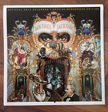 Michael Jackson Kalender Calendar 2017 Special Dangerous Edition Album Square