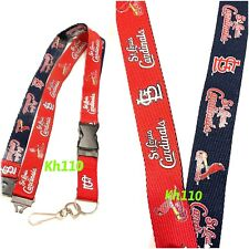 MLB  St.Louis Cardinals Two Tone Clip On Keychain Lanyard