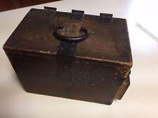 Antique Vintage JAPANESE CALLIGRAPHY SUZURIBAKO writing box tansu