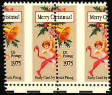 1580 Misperforated pair ERROR stamps - 10¢ Christmas stamp - Mint NH Stuart Katz