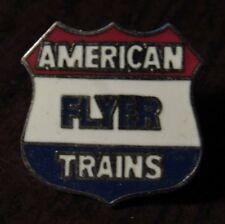 Vintage American Flyer Trains Model Railroad Hat Lapel Pin