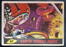 A&BC-MARS ATTACKS 1965-#47- EARTH BOMBS MARS