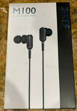 KEF M100 HI-FI IN-EAR HEADPHONES Titanium Grey Compatible with Iphone Ipad Ipod