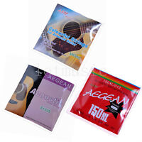 3 Sets Different Acoustic Guitar Strings Set Extra Light Colorful Ball End