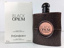 BLACK OPIUM by YSL 3.0 OZ / 90 ML EAU DE TOILETTE SPRAY NEW IN WHITE BOX ~ TSTER