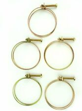 Big Horn 11730Pk 3-Inch Wire Hose Clamp, 5-Pack