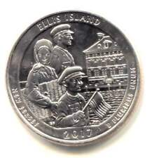 2017 P Ellis Island New Jersey Commemorative U.S Quarter Coin Philadelphia Mint