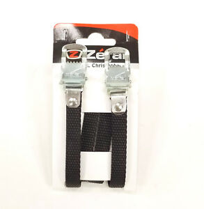 Zefal Bicycle Pedal Toe Straps Woven 440mm