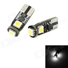 LED License Number Plate Light Bulbs Error Free Canbus White - T10 W5W 501 Bulbs