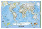 National Geographic: World Classic Wall Map (43.5 X 30.5 Inches)