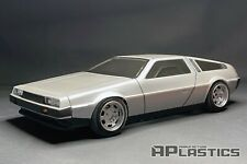 RC Body Car Drift 1:10 DeLorean DMC 12 De Lorean style APlastics New Shell