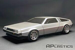 RC Body Car Drift 1:10 DeLorean DMC 12 De Lorean style APlastics New Shell