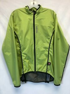Santini Activent Windstopper Cycling Jacket in Green - Size L - Made in Italy