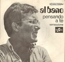 "AL BANO – Pensando A Te (1969 ITALIAN POP VINYL SINGLE 7"" RARE DUTCH PS)"