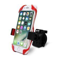 Soporte Teléfono Manillar Bicicleta, Bicicleta Teléfono Móvil Soporte de adecuado para iPhone 7/