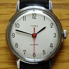 Mens Vintage 1960s Timex Mechanical Wind Up Watch -  British Made, Ex Cond & FWO