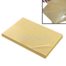10 Feuille A4 Impression Papier Autocollant Transparent Film Pr Laser Imprimante