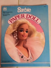 Barbie Paper Dolls / Golden Books / Pre Cut Fashions and 1 Doll / NEW